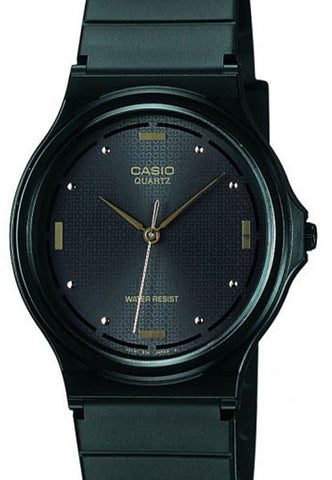 Casio MQ-76-1A Very Thin Analogue Black  Watch