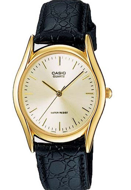 Casio MTP-1094Q-7A Men's Analogue Quartz Watch Leather Band