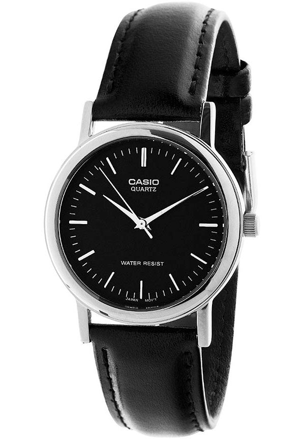 Casio MTP-1095E-1A Men's Classic Analogue Leather Band Watch
