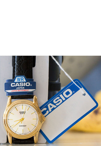 Casio MTP-1096Q-7A Men's Classic Analogue Leather Band Watch
