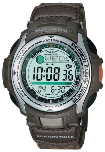 CASIO PAS-410B-5V PATHFINDER HUNTING TIMER MOON DATA Vibration WATCH