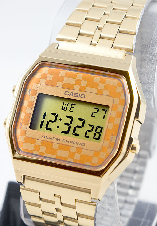 Casio A-159WGEA-9A Digital Gold Watch Stainless Steel Gold Classic New