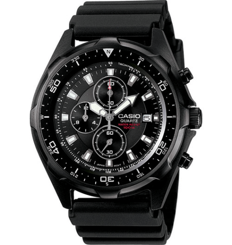 Casio AMW-330B-1AV  100M DIVER Watch Chronograph Resin Band