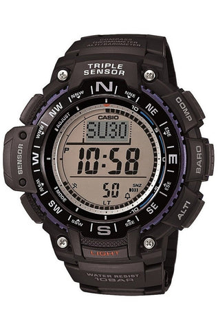 Casio SGW-1000-1ACR Thermometer Compass Altimeter Barometer World Time 5 Alarms Watch New 2015 Model