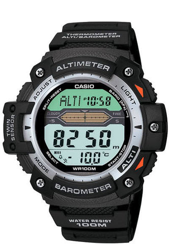 Casio SGW-300H-1AV Altimeter Thermometer World Time Watch