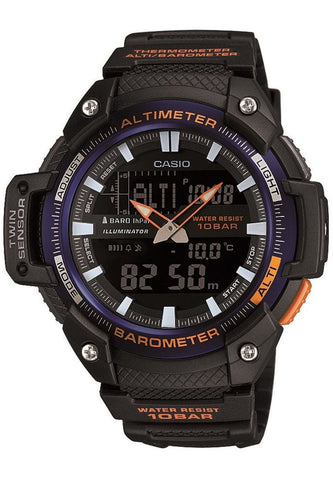 Casio SGW-450H-2B New 2015 Model Altimeter Thermometer Barometer World Time 5 Alarms Watch