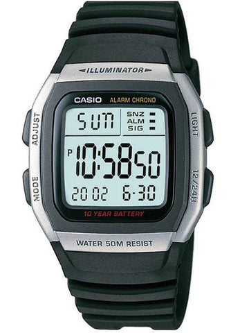 Casio W-96H-1AV Men's Multifunction Sport Watch 10 Year Battery