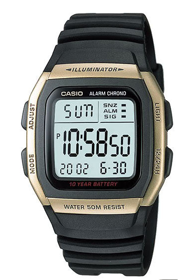 Casio W-96H-9AV Men's Multifunction Sport Watch 10 Year Battery