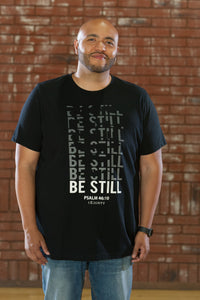 Still Crew Black T-Shirt - Men's