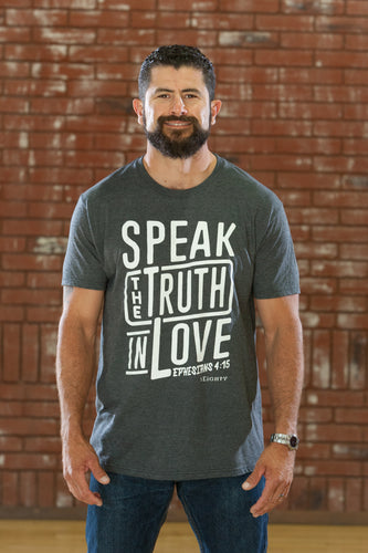 Speak Charcoal T-Shirt - Men's