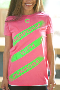 Perform with Purpose Pink T-Shirt - JR