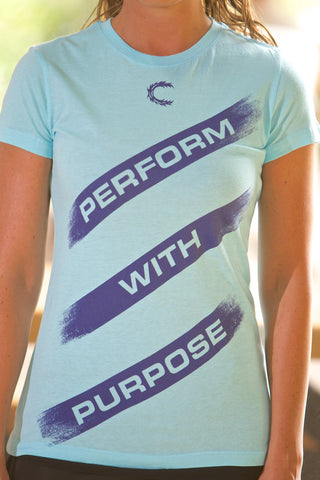 Perform with Purpose Lt. Blue T-Shirt - JR