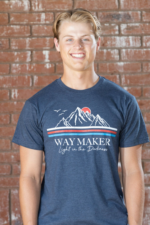 Way Maker Navy Heather - Men's