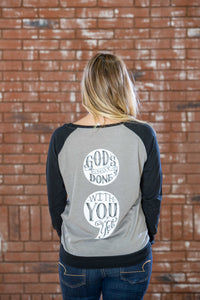 Semicolon God's Not Done Raglan JR