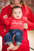 (CHRIST)MAS™ Red Long Sleeve Baby Onesie