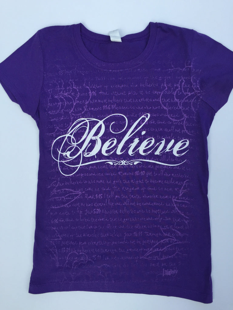 Believe Purple Girls - YOUTH