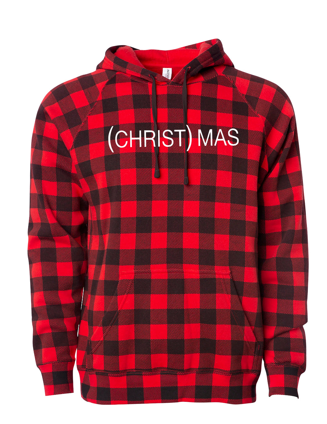 (CHRIST)MAS Plaid Hoody - Unisex