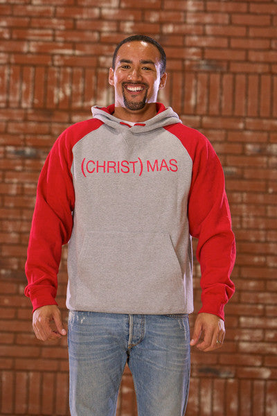 (CHRIST)MAS™ two-tone Hoody - Men's CLOSEOUT!