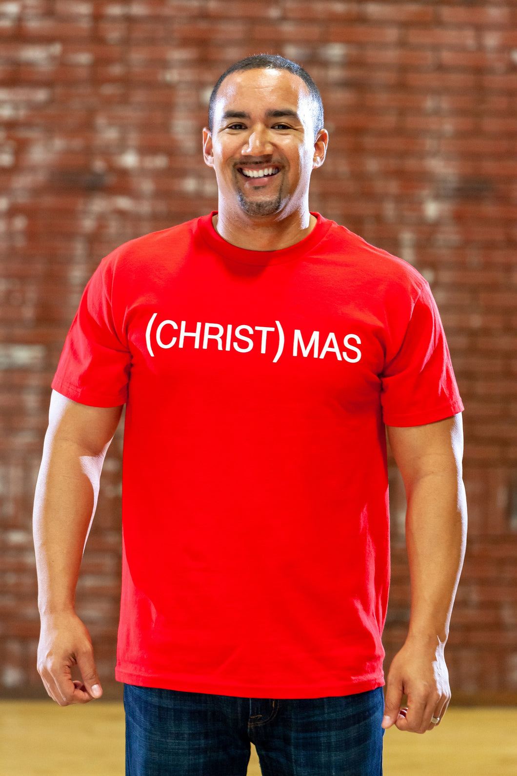 (CHRIST)MAS™ Red Short Sleeve - Men's