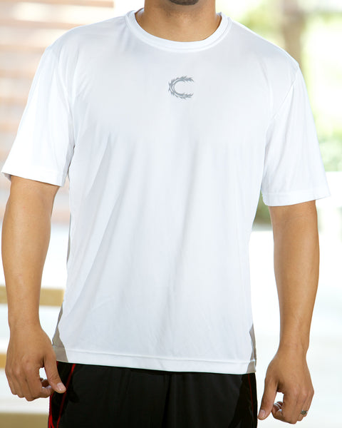 Claimed Athletic Wear Competitor White - Men's
