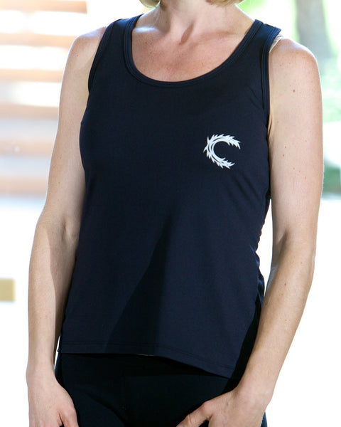 Claimed Athletic Wear Black Tank - Women's