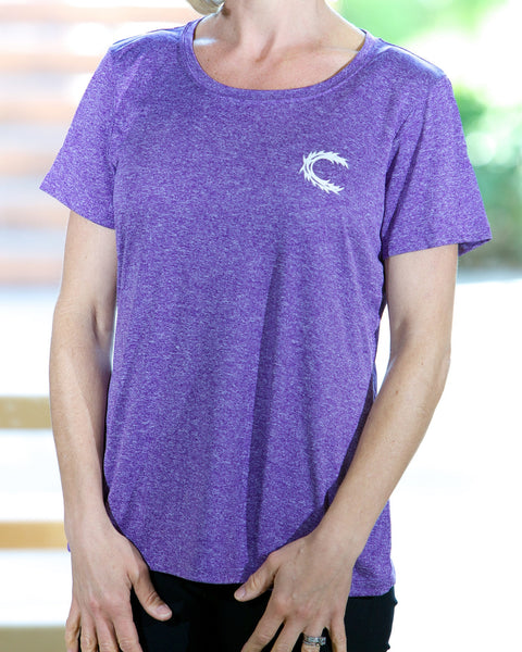 Claimed Athletic Wear Lt Purple Heather Contender - Women's