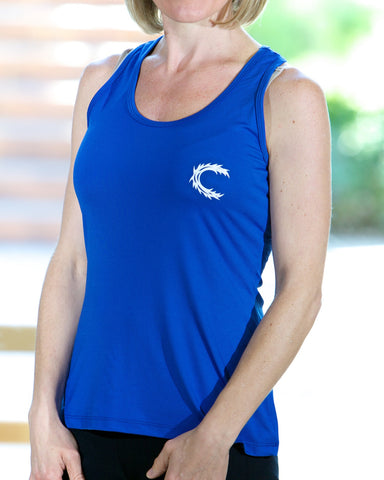 Claimed Athletic Wear Royal Blue Tank - Women's