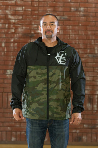 Crown of Love Black/Camo - Windbreaker