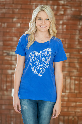 Everlasting Royal T-Shirt - Women's Cut