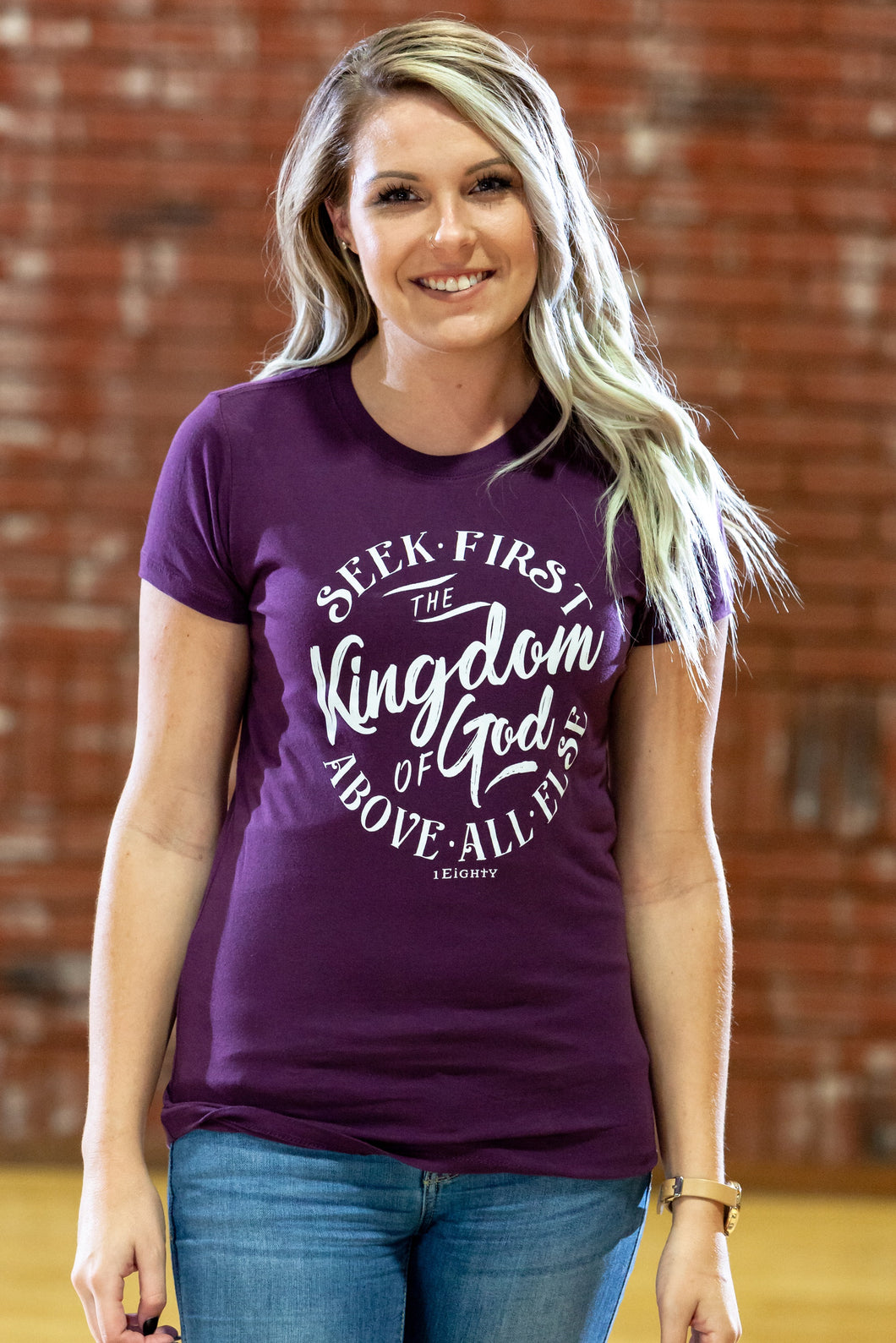 Kingdom Plum Crew - Women's
