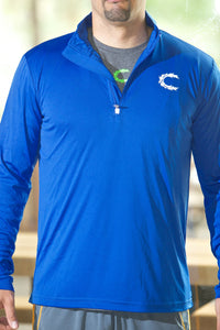 Claimed Athletic Wear Royal 1/4 Zip LS - Men's