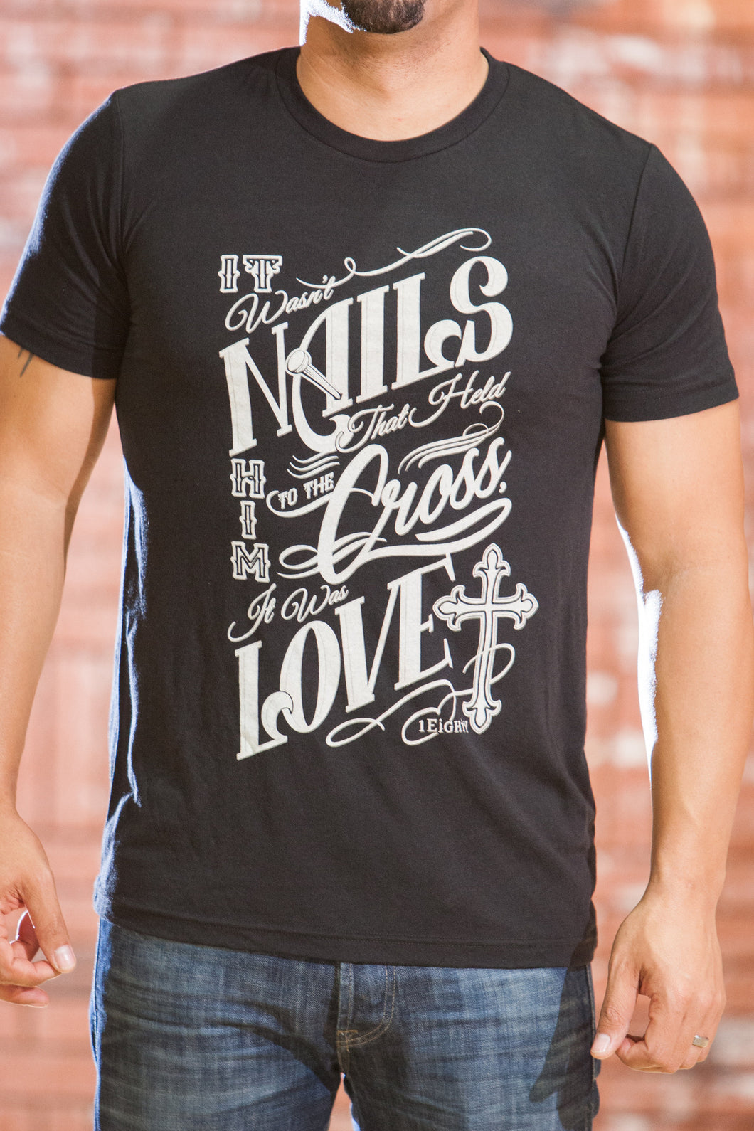Nails Black T-Shirt - Men's