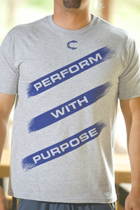 Perform with Purpose Lt. Gray T-Shirt- Men's