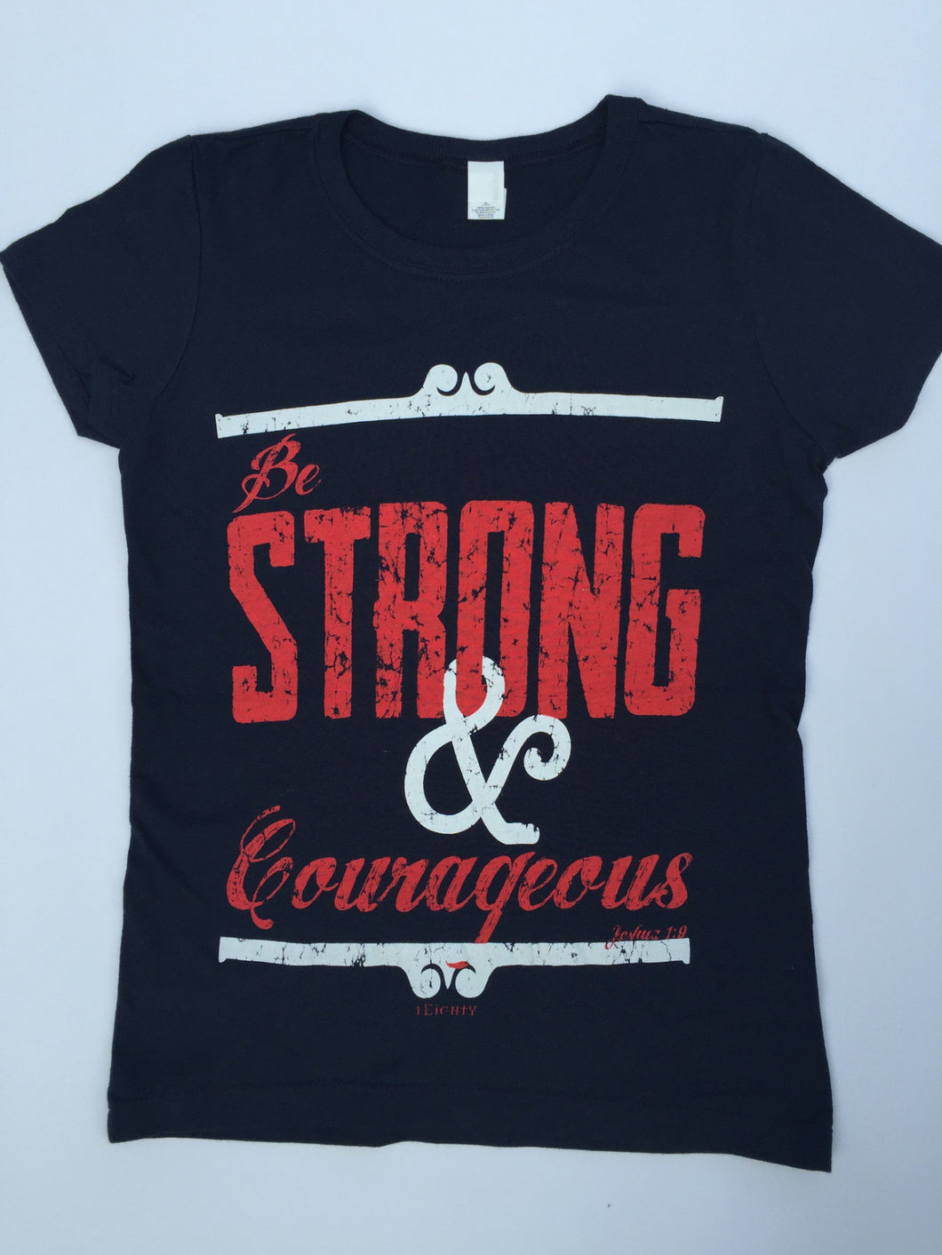Strong & Courageous Navy - Girls