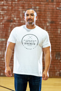 Stood White T-Shirt - Men's