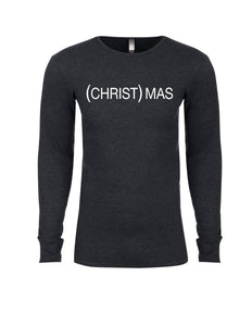 (CHRIST)MAS Charcoal Thermal- UNISEX