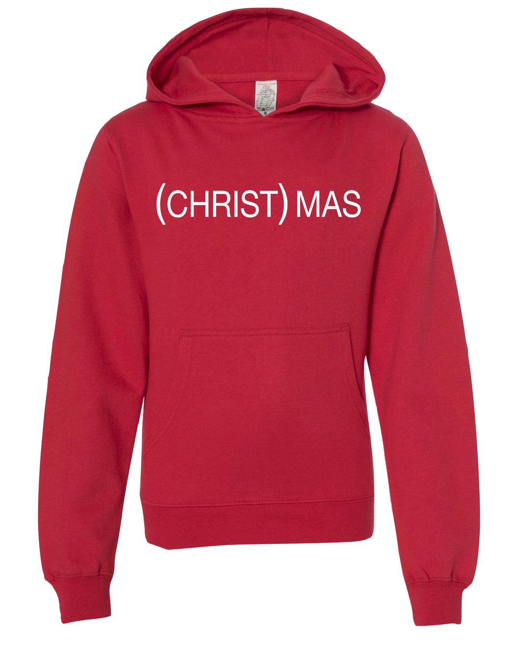 (CHRIST)MAS Red Hoody - Men's