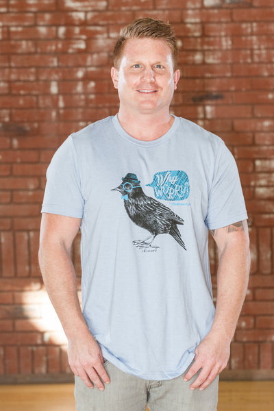 Bird Blue T-Shirt - Men's