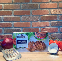 Load image into Gallery viewer, Diestel Turkey Ranch Organic Ground Turkey Burger
