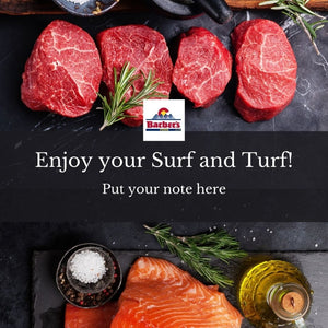 Barber's Surf and Turf