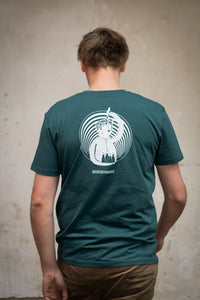 T-Shirt Frontaal (Glazed Green)