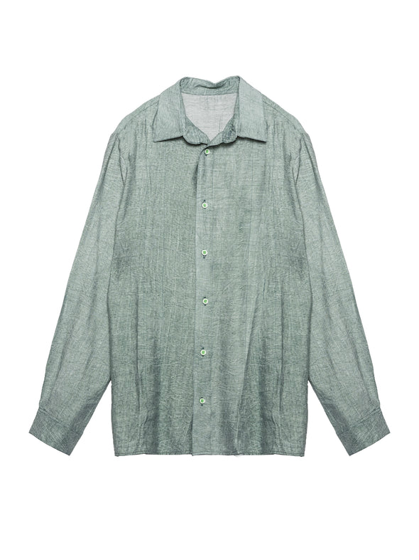 Washed shirt Green