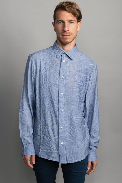 Washed shirt - Blue
