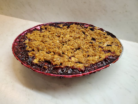 GF - Apple Berry Crumble (25cm - 8 large slices)