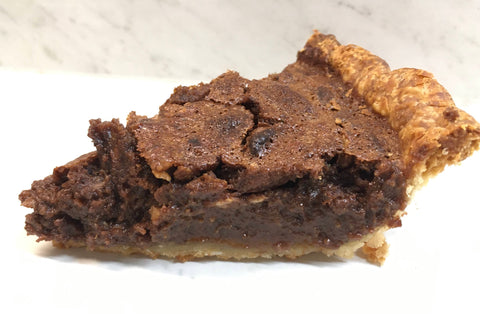 Maple Chocolate Pecan Pie (No Corn Syrup)