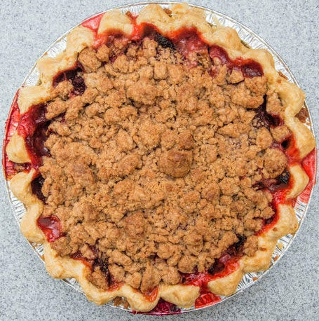 Pear Cranberry and Streusel Pie (GF Option Available) (Serves 8)