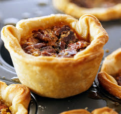 Individual Butter Tarts, Pecan or Raisin (3 or 6 Packs)