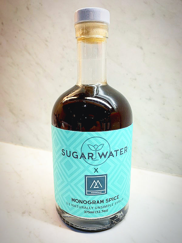 Monogram Spice - Sugar Water Syrups (375ml)