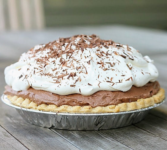 Chocolate Mousse Pie (Serves 8)