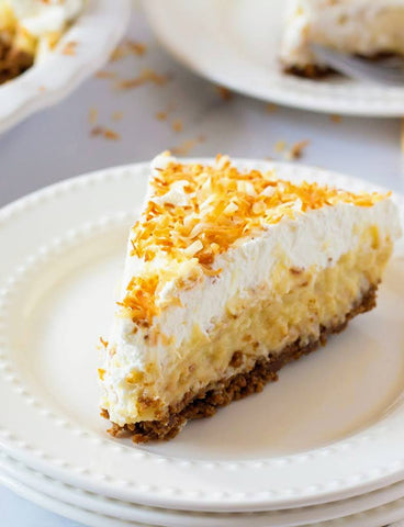 Triple Coconut Cream Pie (GF Option Available)(Serves 8)